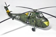 "UH-34D ""Marines"" - Revell 1/48th"