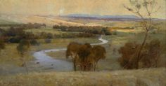 """Still glides the stream ....and forever glide"" Arthur Streeton"