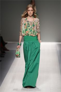 Florals & Greens; I have no idea why but this dress is something that I want, like NOW.