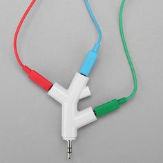 Tree Branch Inspired Headphone Splitter For more visit: store.theproductfarm.com @The Product Farm