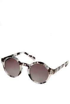 Printed Round Sunglasses