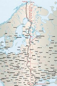 Struven ketju / Struve Geodetic Arc