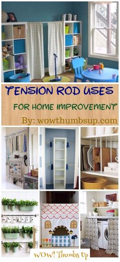 Unexpected Tension Rod Uses Around Your House for Home Improvement