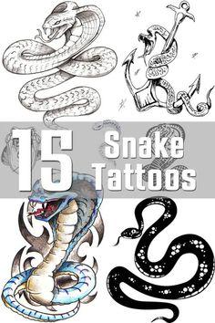 Snake Tattoo Designs