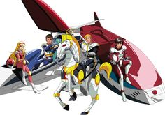If you were a child of the you may recall a particular anime called Saber Rider and the Star Sheriff. The anime featured a ragtag group of heroes including Saber, Fireball, April, and Colt and they're coming back. 80s Cartoon Shows, Cartoon Characters, Gi Joe, Vintage Toys 1960s, 1980s Kids, Nostalgia, Mecha Anime, Super Robot, 90s Cartoons