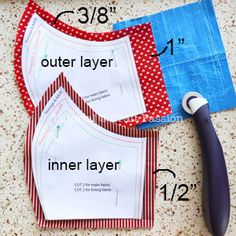 Face Mask Pattern - Free Sewing Patter • Craft Passion
