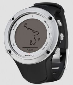 """Suunto Ambit2 Silver Watch SS019650000. Watch Face Dimensions: 1.79 x 1.79 x 0.71"""". Weight: 82g. General Functions:<br> - Time, date, alarm, dual time<br> - Nine languages<br> - GPS timekeeping<br> - Positive/Negative display switch<br> - User-adjustable backlight<br> - Versatile button lock<br> - Low battery indicator<br> - Metric and imperial units. ANT/ANT+ and HR compatable for even more Sports-Specific Functions. Personalize with 1000+ free Sports Apps."""