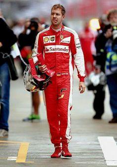 In the Paddock w/Sebastian Vettel ahead the 2015 #F1 GP of Russia at Sochi Autodrom