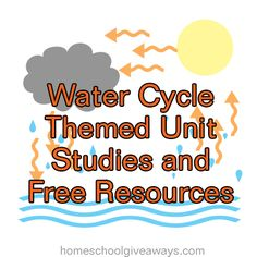 Water Cycle Themed Unit Studies and Free Resources | Homeschool Giveaways