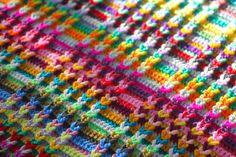 George Baby Blanket   Sarah London- it's a chain loop