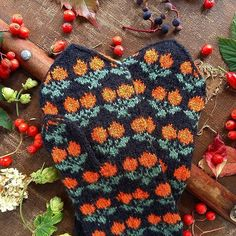 Berry mittens for warm & healthy fall  Did You knew that You can order Latvian ethnographic mittens online for only 22.00€? And that we ship worldwide? << WWW.TINES.LV >> Highest quality guaranteed and knitted by Latvian grandmothers  ☆100% wool yarn☆  #latvianmittens #knittedmittens #knitmittens #woolgloves #ethnographic #handknitted #strikking #strikk #handarbeit #stickat #strickning #strikkedilla #garnglede #mittens #gloves #mitts #knitmittens #madeinlatvia #handmade #latvian #madei...