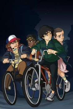 Stranger Things by DLapiz on DeviantArt
