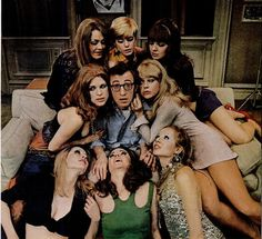 Woody Allen - o intelectual espirituoso - com o seu humor contagiante nos deixa livre, leve e solta!