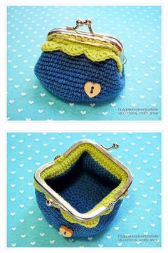Marvelous Crochet A Shell Stitch Purse Bag Ideas. Wonderful Crochet A Shell Stitch Purse Bag Ideas. Crochet Wallet, Crochet Coin Purse, Crochet Purse Patterns, Crochet Gifts, Crochet Shell Stitch, Bead Crochet, Crochet Yarn, Crochet Change Purse, Crochet Handbags
