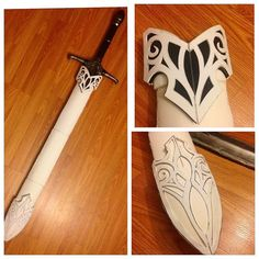 Started construction on the scabbard for my sword. All custom patterns and… … Started construction on the scabbard for my sword. All custom patterns and… ♥ Larp, Cosplay Weapons, Cosplay Diy, Cool Costumes, Cosplay Costumes, Elefante Tribal, Cardboard Costume, Armadura Cosplay, Costume Tutorial
