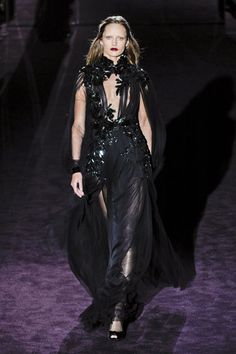 THE BEST LOOKS FROM MILAN FASHION GUCCI FALL 2012