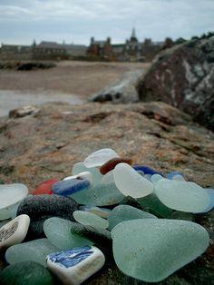 Scottish sea glass