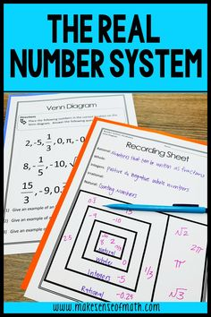 Check out these 8th grade math stations for rational and irrational numbers. Your eighth grade math and Algebra students will love learning about the number system with these engaging stations and centers. Go beyond using just a worksheet. These work great with the common core standards and make teaching about rational and irrational numbers so much easier. Click here to check out this product. #makesenseofmath