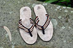 """WAYUU SANDALS 11/EUR44/UK10-10.5. Typical Wayuu Indian footwear called """"Wayrenas."""" www.colombiart.co"""