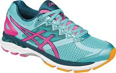 low priced c4a73 ca49c Asics Women s GT 2000 4 (Turquoise   Hot Pink   Autumn Glory)