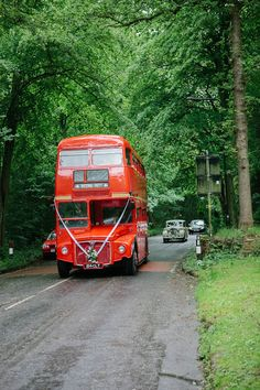 Double Decker Bus for the Wedding Party.