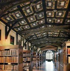 Bodleian Library, Oxford University. AAAHH!! One of my favorite places in the world!