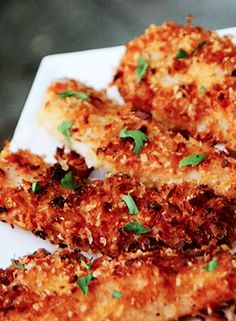 Skinny Coconut Chicken Tenders