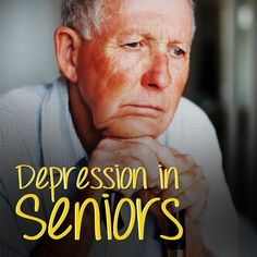 Depression is not something that is easily spoken of but imperative that it be for the health and safety of your aging parents.