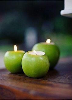 Apple tea lights!!