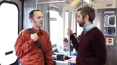 Coworkers Each Putting In Herculean Effort To Sustain Conversation For Entire Commute | The Onion - America's Finest News Source