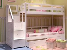 ^^Go to the webpage to see more on twin full bunk bed plans. Click the link for more info Viewing the website is worth your time. Cheap Bunk Beds, Bunk Beds With Storage, Bunk Beds With Stairs, Kids Bunk Beds, Bed Storage, Loft Beds, Full Size Bunk Beds, White Bunk Beds, Double Bunk Beds