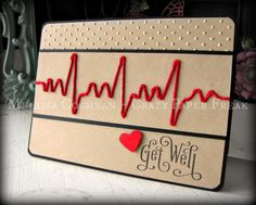 Get Well card created by Melissa @ crazypaperfreak.blogspot.com