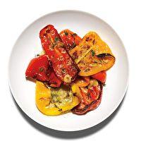 Parmesan Peppers by Bon Appétit, submitted by Richard Andres, Tantré Farms, Chelsea, MI