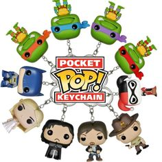 Funko Announces New Pocket POP! Keychains - Visit http://popvinyl.net/pop-vinyl-news/funko-pocket-pop-keychains/ for more info