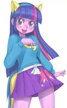 Twilight Sparkle. I wany to cosplay this soooo bad. Lol.