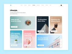 Made this lifestyle blog design for our recent Framer export release. What's really cool about this design is that it uses Framer's layout tools to make the design scalable by default. Our layout t...