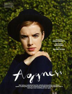 AGYNESS DEYN, PHOTOGRAPHER: ANGELO PENNETTA |