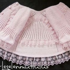 B [ Grey crochet dress/shirt with bows, Super cute crocheted short-sleeved sweater w/button!This Pin was disco…I want to knit very stylish grandson. Baby Cardigan, Knit Baby Dress, Baby Pullover, Baby Girl Patterns, Baby Knitting Patterns, Baby Girl Skirts, Dog Dresses, Knitting For Kids, Diy Dress