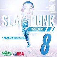 2015 NBA Slam Dunk Contest Champion Zach Lavine