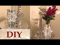 4 dollar tree fall decor diy youtube dollar tree for Kitchen cabinets lowes with candle holder tree