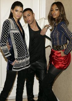 Balmain is gearing up for a new collabo with H&M.  http://www.manrepeller.com/best_of_internet/balmain-for-hm-with-kendall-jenner.html
