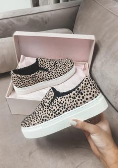 About Time Leopard Slip On Platform Shoes – Amazing Lace Slip on leopard shoes with a platform sole. Shoes run true to size Always free USA shipping Cute Womens Shoes, Womens Shoes Wedges, Cute Shoes, Women's Shoes, Shoes Sneakers, Pretty Shoes, Shoes Style, Slip On Shoes, Asos Shoes