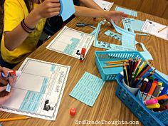 """3rd Grade Thoughts: Launching Word Work {Week 1}. This blog post explains how Stephanie launched her Daily 5 this school year. I kind of like the idea of doing this even before Read to Self, because then they have something else to do when they finish something early. Otherwise, it's just """"read a book"""" every single time!"""