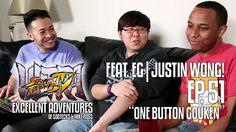 ONE BUTTON GOUKEN! The Excellent Adventures of Gootecks & Mike Ross ft. EG Justin Wong! Ep. 51