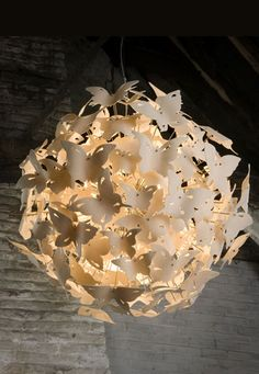 butterfly ball 176- chandelier by Diffuse Studio - UK
