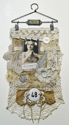 Shabby Chic wall hanging.