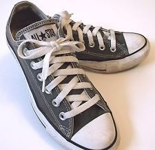 GRAY CONVERSE All Star WOMENS Sneakers 7 Casual Shoes