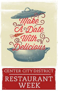 Reminder: Center City Restaurant Week Kicks Off This Sunday, January 20 City Restaurants, Restaurant Week, January 20, Things To Do, Kicks, Sunday, Food, Things To Make, Domingo