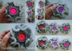 Hyperbolic Crochet Flower