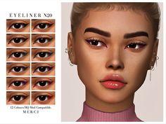 Sims Four, Sims 4 Mm, Sims 4 Mods Clothes, Sims 4 Clothing, Maxis, Sims 4 Body Mods, Sims New, Sims 4 Cc Eyes, The Sims 4 Skin